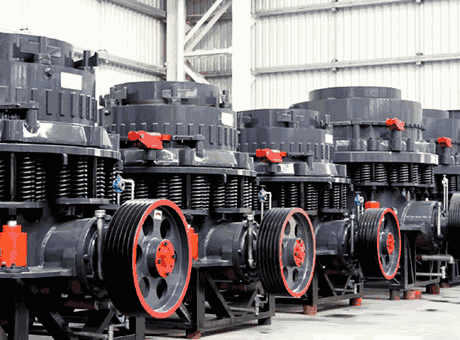 specification of cone crusher