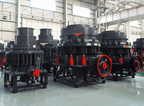 types of cone crushers pdf
