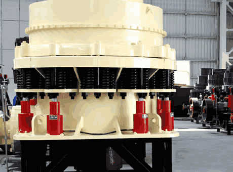 system for simons cone crusher