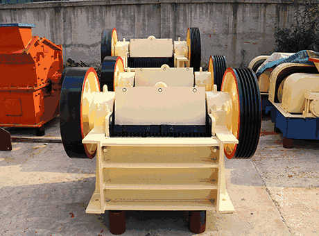 various minging equipment jaw crusher