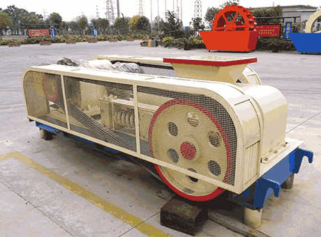 potash feldspar primary roll crusher